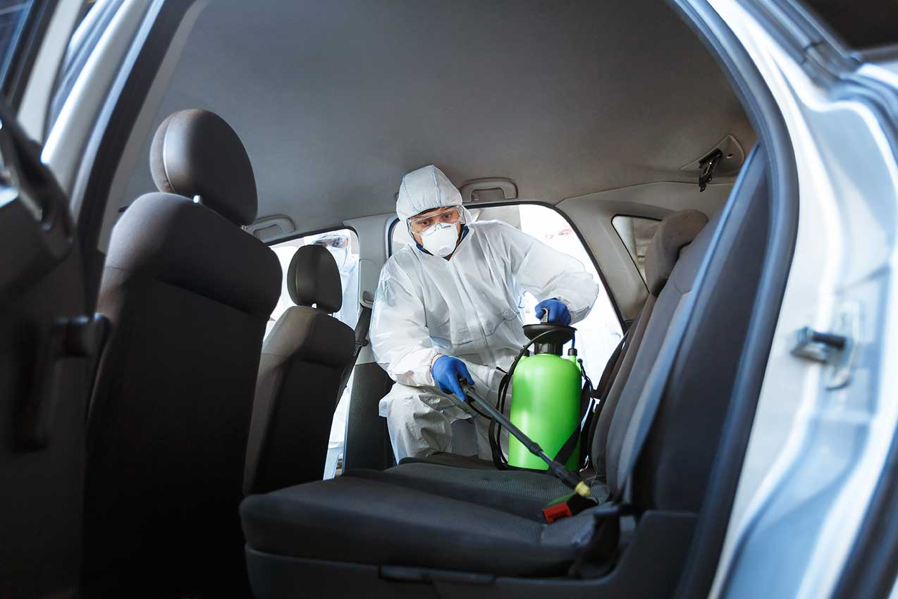 HOW TO CLEAN AND DISINFECT YOUR CAR